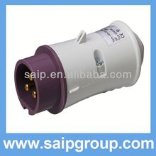 Low Voltage Plug and socket battery powered plug socket 32a industrial plug and socket
