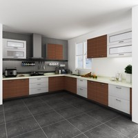 Modular Kenya Project Simple L-shaped Small Kitchen Designs