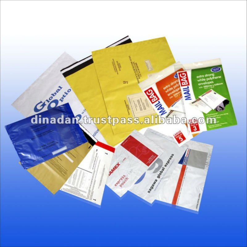 Co-extruded Poly Mailer bags
