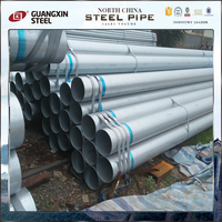 surplus q125 q195 galvanized steel pipe