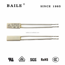 BAILE BH thermal fuse for electric equipment 125c with UL