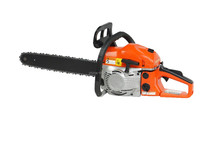 petrol chain saw garden tool wood cut machine Oregon chain