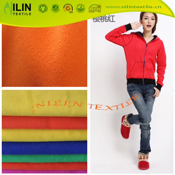 Micro polar fleece fabric for overcoat