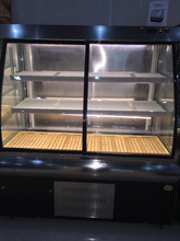 APEX commercial countertop cake display refrigerator for padtry shops