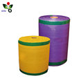 Pe raschel fruit vegetable mesh bag roll for automatic packaging