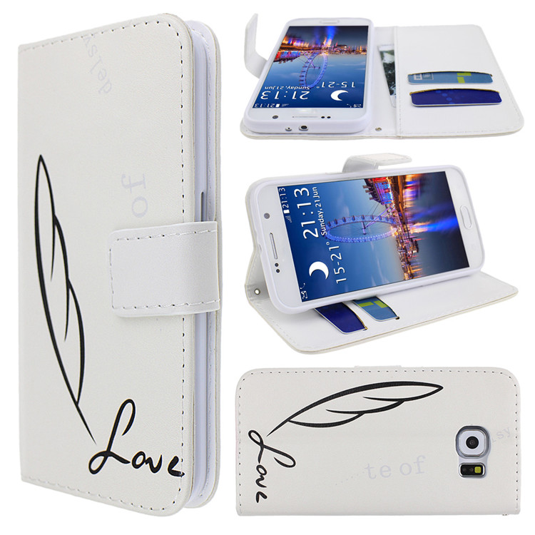 New Products Leather Stand Flip Magnetic Detachable Wallet Case for Samsung Galaxy S6 Active