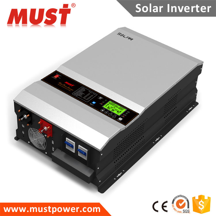 PV3500 Series MUST SOLAR low frequency 8000w 10000w 12000w solar inverter 48v 230v