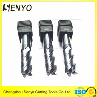 Senyo tungsten carbide 4 flute flat endmill milling cutter for sale
