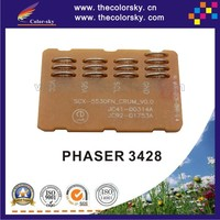 (TY-X3428) compatible reset laser printer toner chip chipset for Xerox phaser 3428 106R01245 106R01246 bk 4k/8k pages