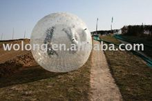 inflatable sports ball used in sand