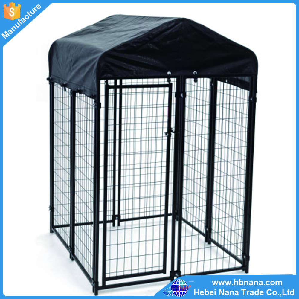 Dog House dog cage pet house / large outdoor galvanized metal dog cage pet house