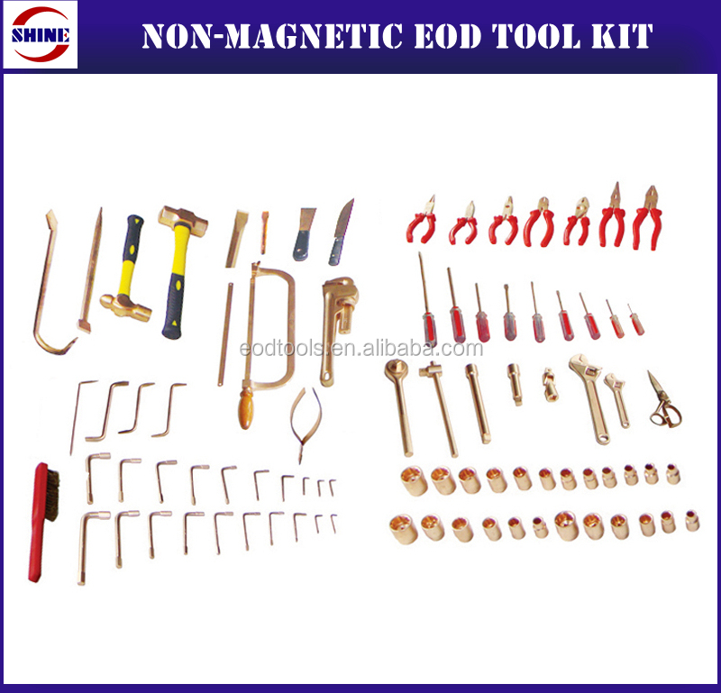 High Quality Non Magnetic 85 Piece EOD Tool Kit for sale