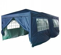 3m x 6m Anti-UV Pop Up Gazebo - Navy Blue