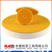 100% High Quality Compressed Felt Buffing Disc For Bars And Powders