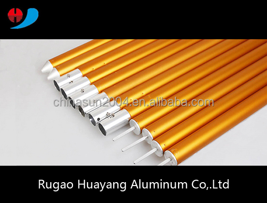 High demand products in market aluminum telescopic extension rod