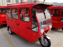 three wheel gas power tricycle use for passenger taxi