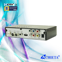 H.264 Decoding DVB-T2 +S2 Digital Satellite TV Receiver with USB Port