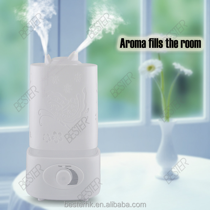1.5L Ultrasonic Aroma Diffuser/Large Lobby Oil Humidifier