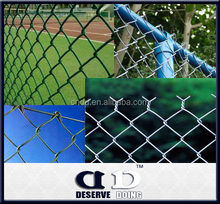 1.8m/2m/ suare post /galvanized temporary dog proof chain link fence(factory exporter )
