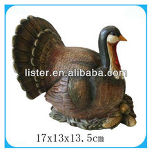 2013 Thanksgiving Day Resin Turkey Harvest Festival Decoration