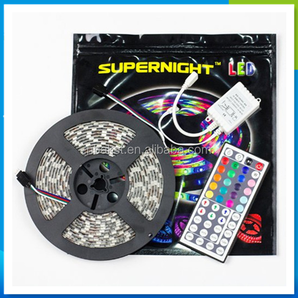 RGB LED Strip Kit, 5M 5050 or 3528 SMD RGB Flex LED Light Strip with 44 Key Controller and 12V 5A Driver