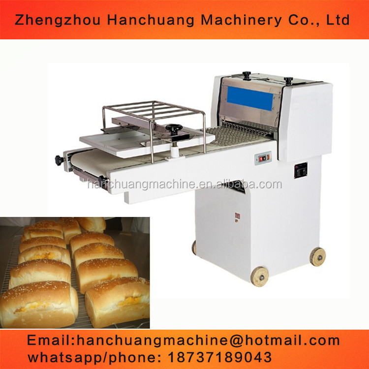 high quality French baguette bread moulder machine/dough shaping bakery