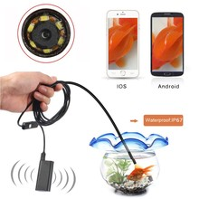 Waterproof 5.5MM wireless android usb borescope endoscope inspection snake camera