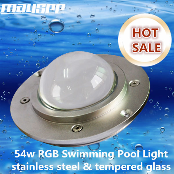 IP68 RGB pond led recessed underwater light