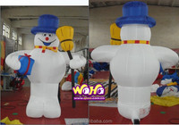 best selling inflatable Christmas snowman for decoration/inflatable christmas cartoon