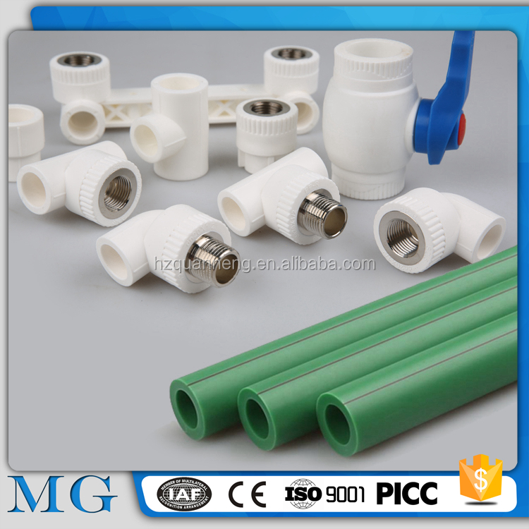 wholesale manufacture & exporter ppr pipe germany oil and gas ppr pipe best quality green ppr pipe fitting flange