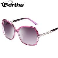 Big Frame Gradient Lens Sunglasses 2323 Gradient Purple