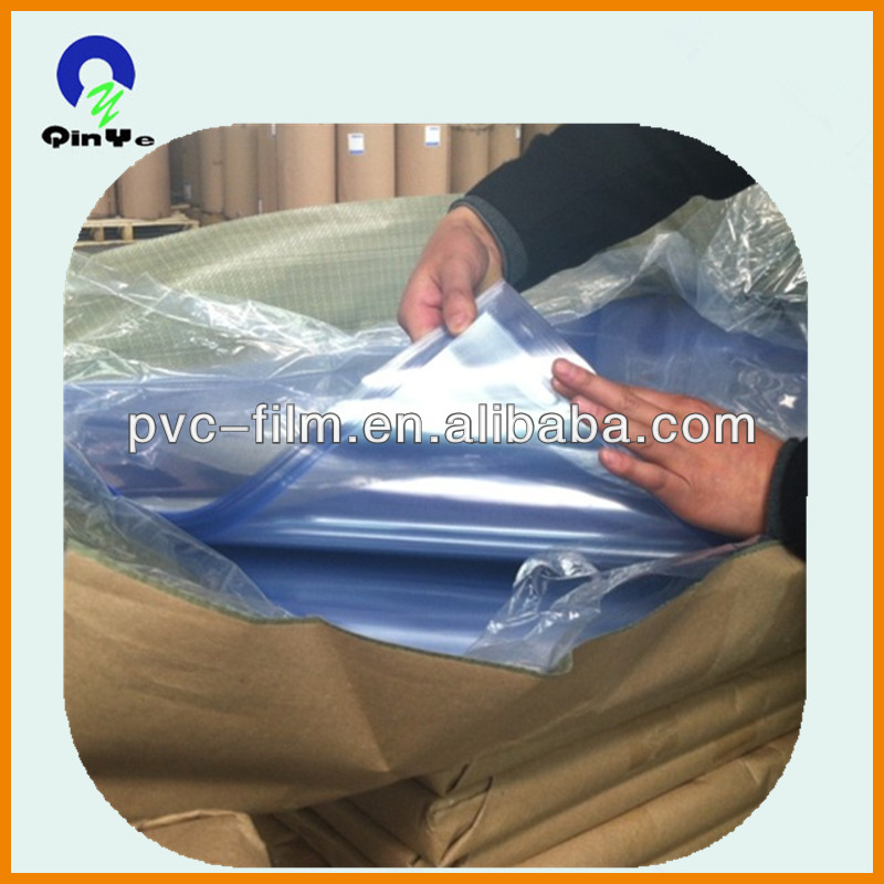 LG raw material thin rigid colorful transparent plastic calender pvc film offset printing