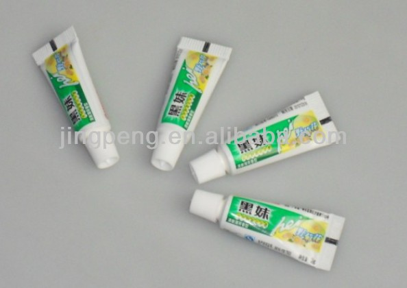 small toothpaste tubes