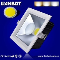 best selling products ceiling downlight square aluminum 30W 8inch LED downlight