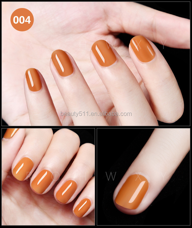 12ml Fashion Manicure shop Persistent Phototherapy Gel Orange Nail Polish