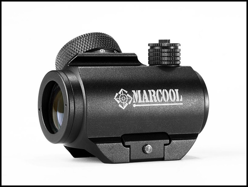 MARCOOL 1X20 HD Red Dot Sight Reflex With 20mm Weaver Mount Optics Sight Red point For Hunting Rifles Tactical Gun Scopes