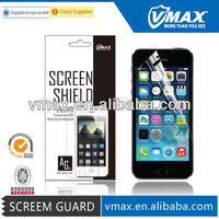 3H Anti glare screen guard for iPhone / iPhone 5 5c 5s oem/odm (Anti-Fingerprint) with packing