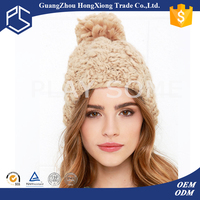 design your own 100% wool knitted women winter hat