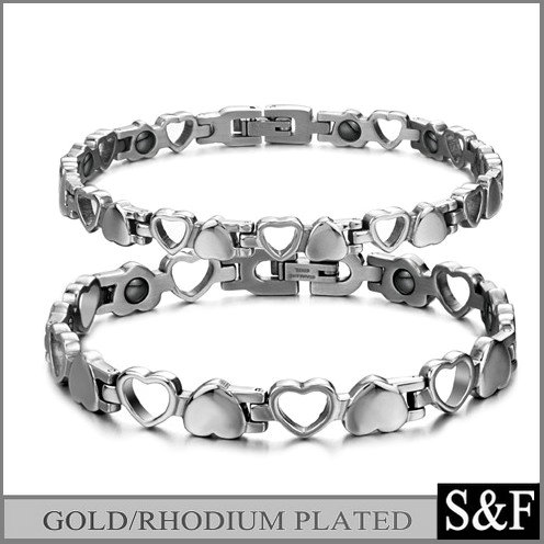 Wholesale 316 stainless steel titanium magnetic bracelet
