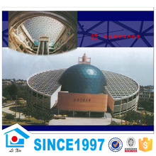 Steel Structure Building Large Span Round Shape Gymnasium Construction