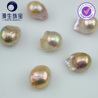 15-18mm large hole size baroque fresh water pearl beads