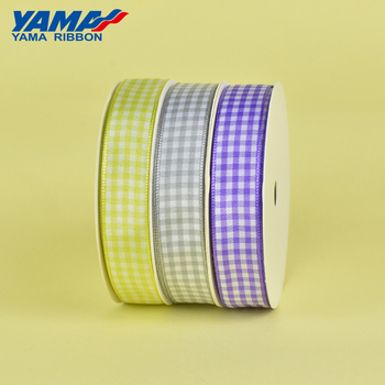 YAMA 5/8 inch colorful different sizes polyester and nylon style ribbon mixed