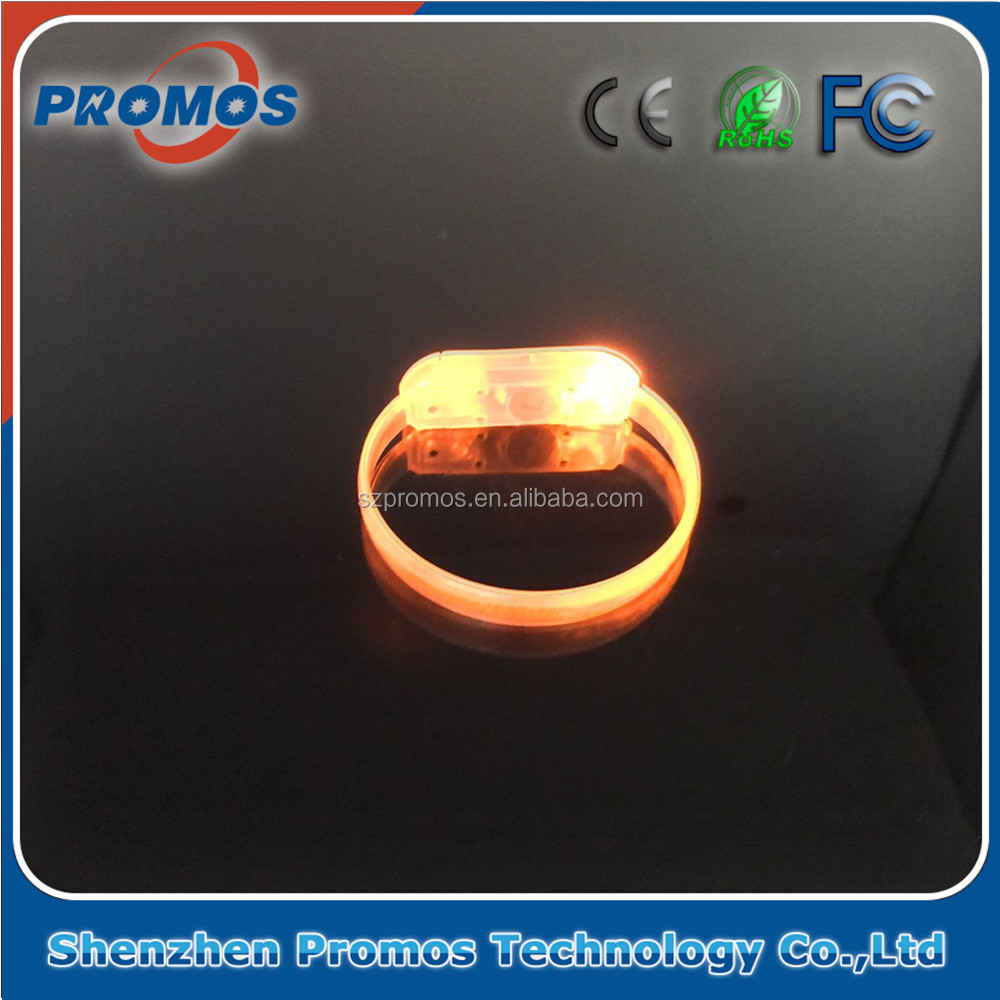 Top Quality New Arrival Business Gift Led Flashing Bracelet