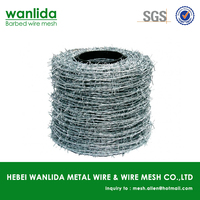 China supplier cheap fencing barb wire/barbed wire on ebay ( SGS )