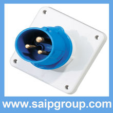 2014New 3P IP44 Industrial electrical 4-pin industrial power plug SP812