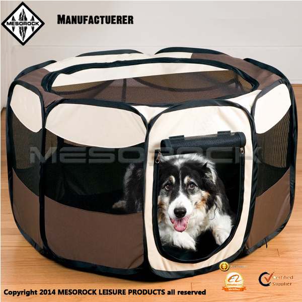 Best Exercise Kennel Portable Pen for Easy Travel Pet Tent Pet Fence Pet Cage