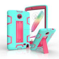hot sales hybrid 2 in 1 tpu+pc cover case for lg g pad 8