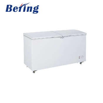 BERING BD/BC-510Q 510L Top open Deep Freezer double door big capacity Chest Freezer 510L
