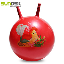 PVC space hopper toy jumping pop ball for kids