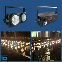 Two eyes audience blinder hot selling led blinder rgbw carton package